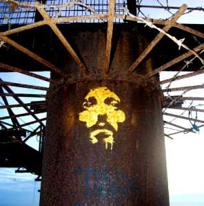 Jesus crown of thorns - West Pier Brighton