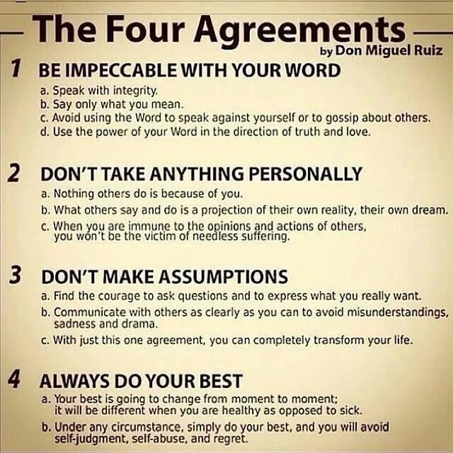 Four Agreements Large